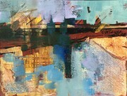 Cityscape, abstracted